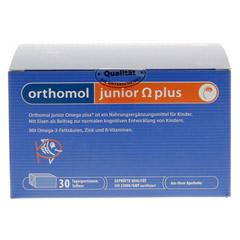 ORTHOMOL Junior Omega plus Kaudragees 30 Stück - Vorderseite