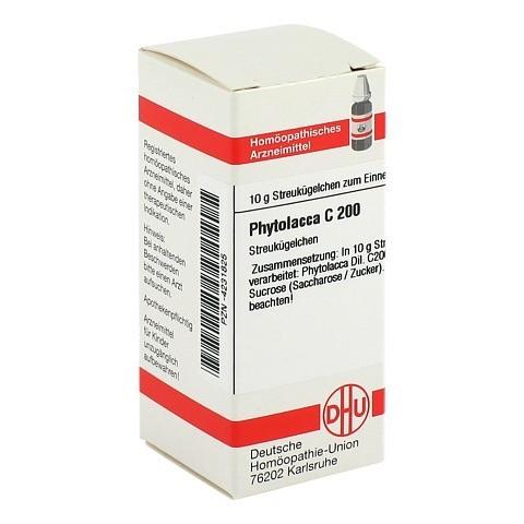 PHYTOLACCA C 200 Globuli 10 Gramm N1