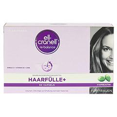 ELL-CRANELL Haarfülle+ für Frauen Kapseln 60 Stück - Rückseite