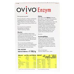 OVIVO Enzym magensaftresistente Tabletten 60 St�ck - R�ckseite