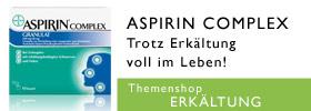 Erk�ltung Aspirin Complex Themenshop
