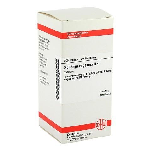 SOLIDAGO VIRGAUREA D 4 Tabletten 200 Stück N2