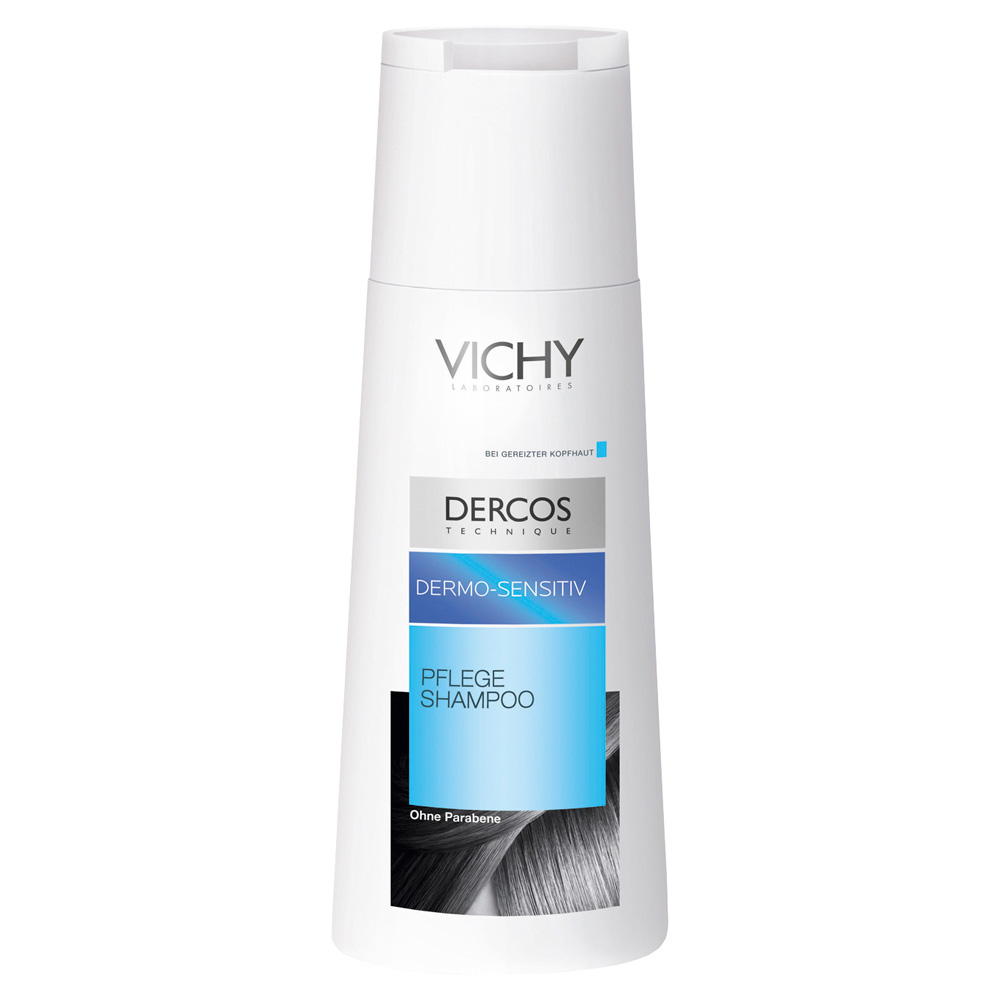 vichy dercos dermo sensitiv shampoo ohne sulfate 200. Black Bedroom Furniture Sets. Home Design Ideas