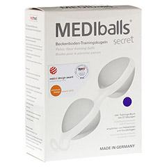 MEDIBALLS secret violett-weiß 1 Stück