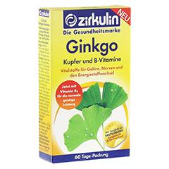 ZIRKULIN Ginkgo Kupfer und B-Vitamine Tabletten 60 Stück