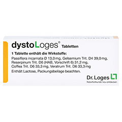 DYSTO LOGES Tabletten 50 St�ck N1 - R�ckseite