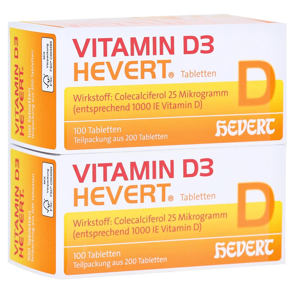 erfahrungen zu vitamin d3 hevert tabletten 200 st ck. Black Bedroom Furniture Sets. Home Design Ideas