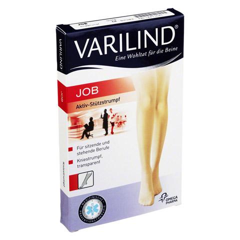 VARILIND Job transp.M schwarz Kniestr�mpfe 2 St�ck
