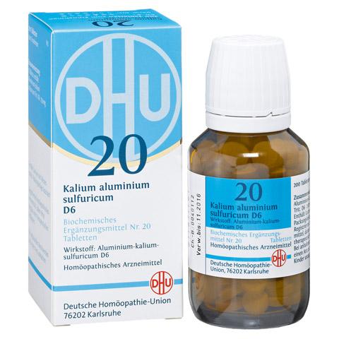 BIOCHEMIE DHU 20 Kalium alum.sulfur.D 6 Tabletten 200 Stück N2
