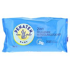PENATEN 2in1 pflegende Reinigungstücher 56 Stück