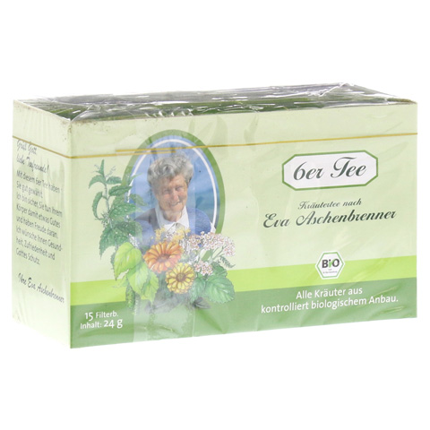 6ER Tee nach Eva Aschenbrenner Filterbeutel 15x1.6 Gramm