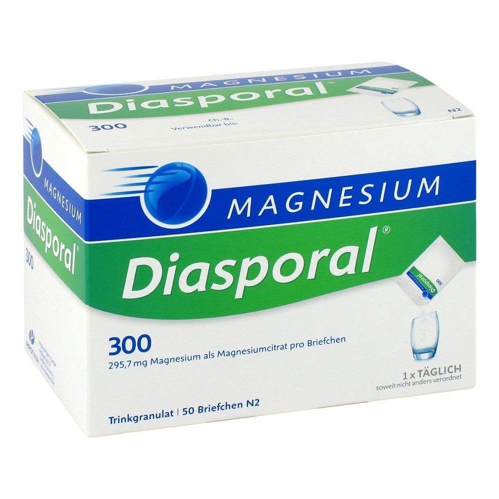 magnesium diasporal 300 granulat 50 st ck n2 online bestellen medpex versandapotheke. Black Bedroom Furniture Sets. Home Design Ideas