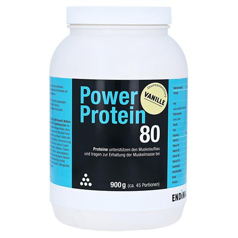 Power Protein 80 Vanille Pulver 900 Gramm