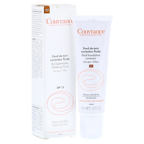 AVENE Couvrance korrigier.Make-up Fluid bronze 30 Milliliter
