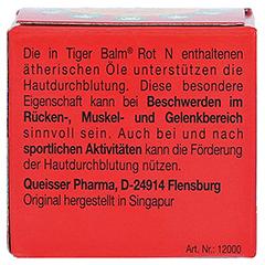 Tiger Balm rot N 19.4 Gramm - Rückseite