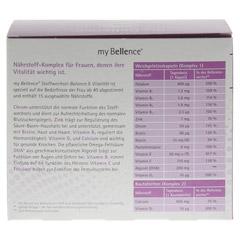 MY BELLENCE Stoffwechsel-Balance&Vitalit�t Kombip. 2x60 St�ck - R�ckseite