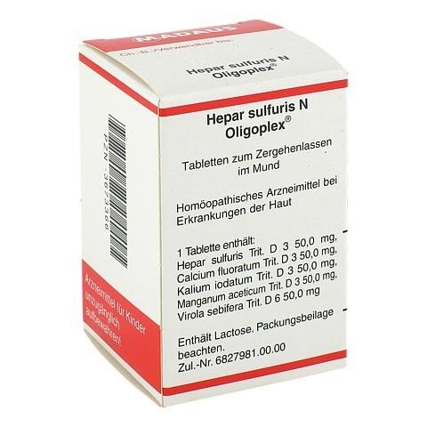 HEPAR SULFURIS N Oligoplex Tabletten 150 St�ck N1