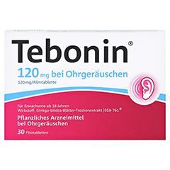 Tebonin 120mg bei Ohrger�uschen 30 St�ck N1 - Vorderseite