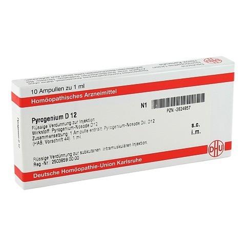 PYROGENIUM D 12 Ampullen 10x1 Milliliter N1