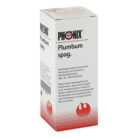 PH�NIX PLUMBUM spag. Tropfen 50 Milliliter N1
