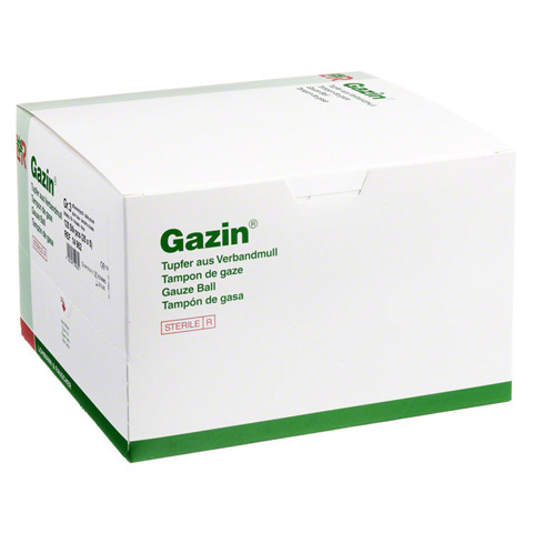 GAZIN Tupfer pflaum.steril 2+3 Schutzr.o.RK 125 Stück