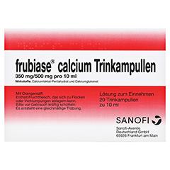 FRUBIASE CALCIUM T Trinkampullen 20 St�ck N1 - Vorderseite
