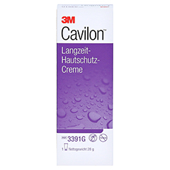 CAVILON Langzeit Hautschutz Creme FK 3391G 1x28 Gramm - Vorderseite