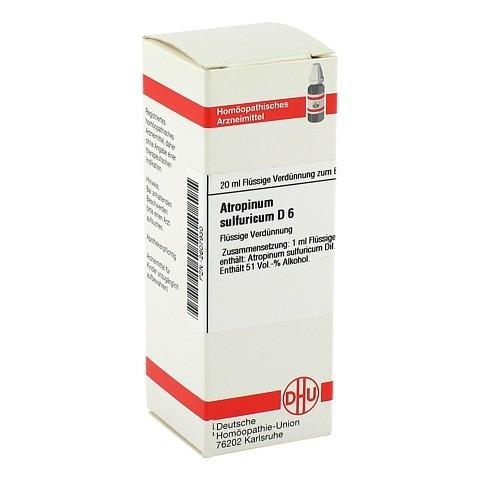 ATROPINUM SULFURICUM D 6 Dilution 20 Milliliter N1