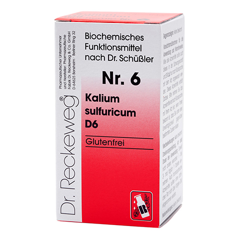BIOCHEMIE 6 Kalium sulfuricum D 6 Tabletten 200 Stück N2