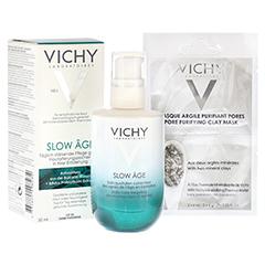 Vichy SLOW AGE Fluid + gratis Vichy Maske porenverfeinernd 50 Milliliter