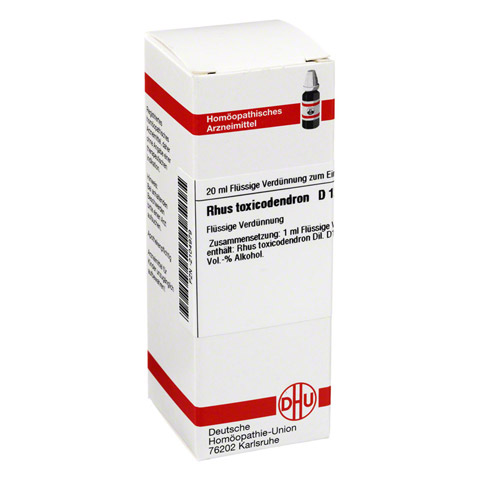 RHUS TOXICODENDRON D 12 Dilution 20 Milliliter N1