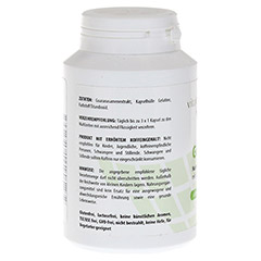 GUARANA PUR 500 mg Kapseln 120 St�ck - Rechte Seite