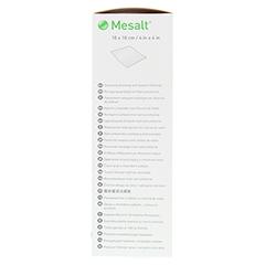 MESALT Kompressen 10x10 cm 30 Stück - Rechte Seite