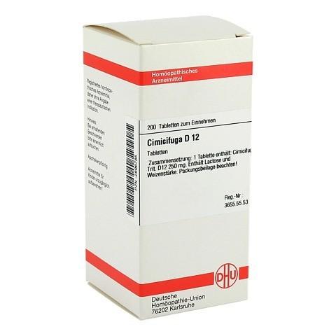 CIMICIFUGA D 12 Tabletten 200 Stück N2