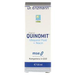 QUINOMIT Ubiquinol Fluid 30 Milliliter - Vorderseite