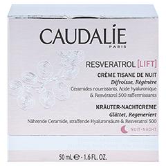 CAUDALIE Resveratrol Lift Kräuter-Nachtcreme 50 Milliliter - Vorderseite