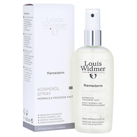 WIDMER Remederm K�rper�l Spray leicht parf�m. 150 Milliliter