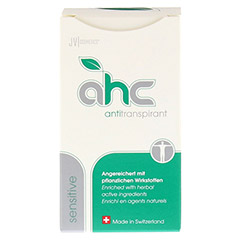 AHC sensitive Antitranspirant fl�ssig 50 Milliliter - Vorderseite