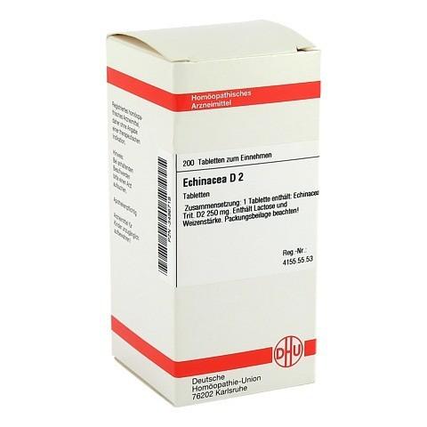 ECHINACEA HAB D 2 Tabletten 200 Stück N2