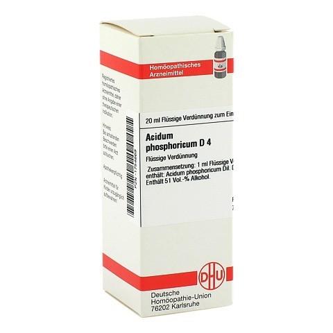 ACIDUM PHOSPHORICUM D 4 Dilution 20 Milliliter N1