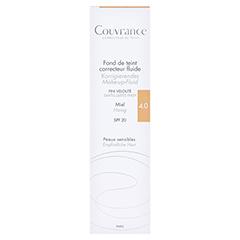 AVENE Couvrance korrigier.Make-up Fluid honig 30 Milliliter - Vorderseite