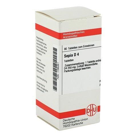 SEPIA D 4 Tabletten 80 Stück N1