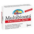 MULTIBIONTA Nutrition forte Kapseln 20 Stück