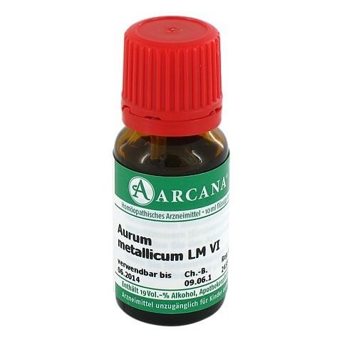 AURUM METALLICUM Arcana LM 6 Dilution 10 Milliliter N1