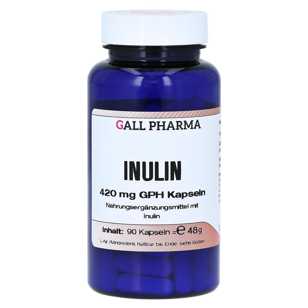 inulin 420 mg gph kapseln 90 st ck online bestellen. Black Bedroom Furniture Sets. Home Design Ideas