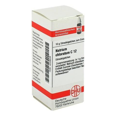 NATRIUM CHLORATUM C 12 Globuli 10 Gramm N1