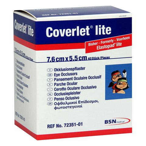 COVERLET lite Augenokklusionspflaster 55x76 mm 40 St�ck