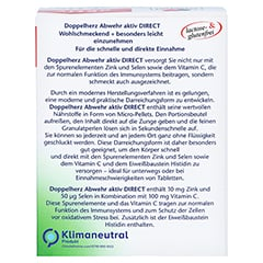 DOPPELHERZ Abwehr aktiv DIRECT Pellets 40 St�ck - R�ckseite