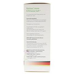 Resistan mono Echinacea Saft 150 Milliliter - Linke Seite