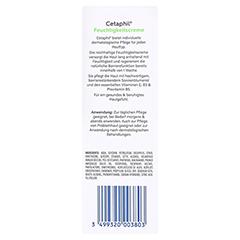 CETAPHIL Feuchtigkeitscreme 85 Milliliter - Rückseite